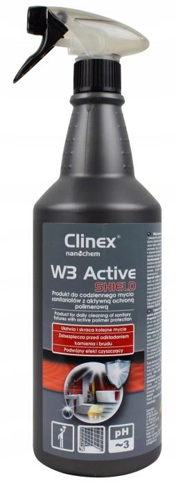CLINEX W3 SHIELD - Мытье душевых кабин 1Л