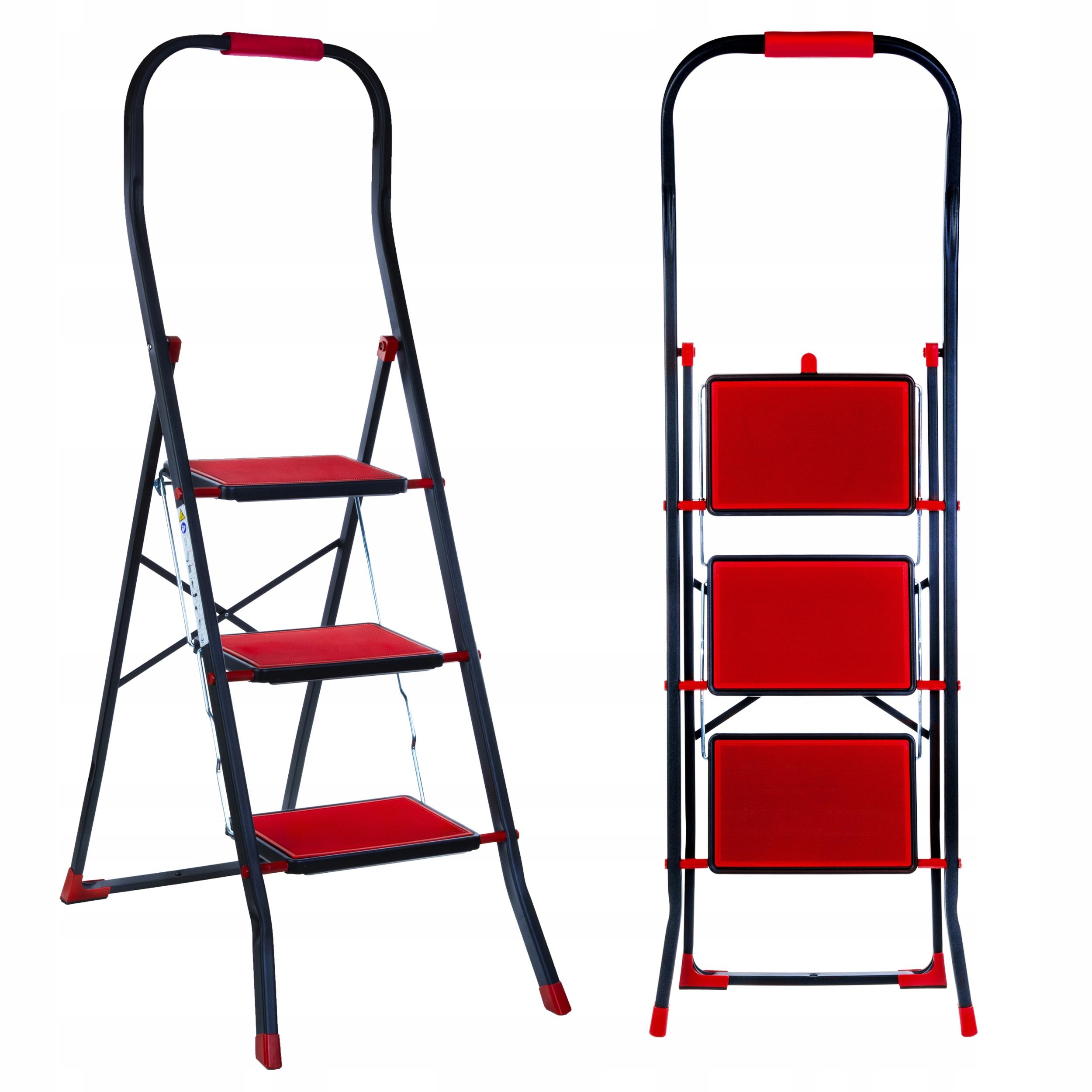 Лестница бытовая складная 3-х ступенчатая СОФТ3