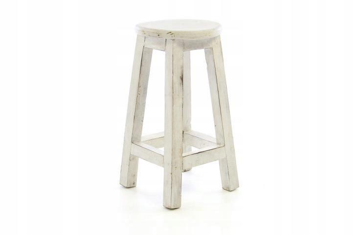Retro stolička - vzhľad VINTAGE DIVERO - výška 50 cm