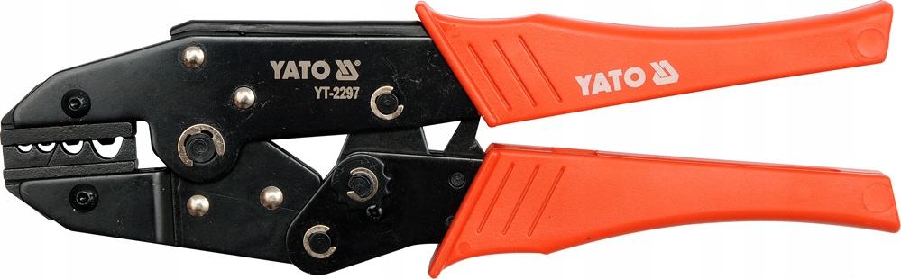 ZLOMOVAČKA PRE KONEKTORY YT-2297 YATO 1,5 až 10 mm