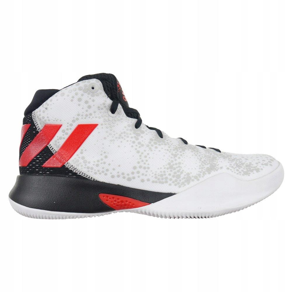 Buty Adidas Crazy Heat męskie sportowe za kostkę do koszykówki 46 23