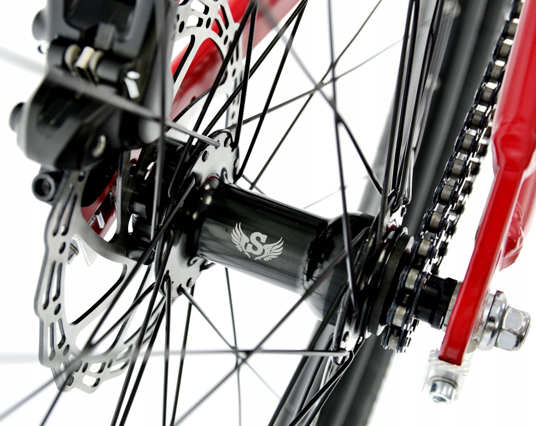 Rower Kands 26 DIRT COLT V2 13 CZERWONY R21 Waga 14.5 kg