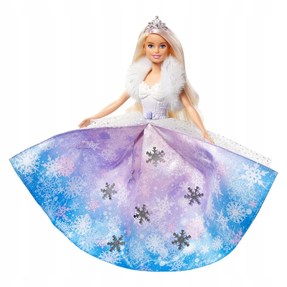 Mattel Barbie princezná Ice Magic GKH26