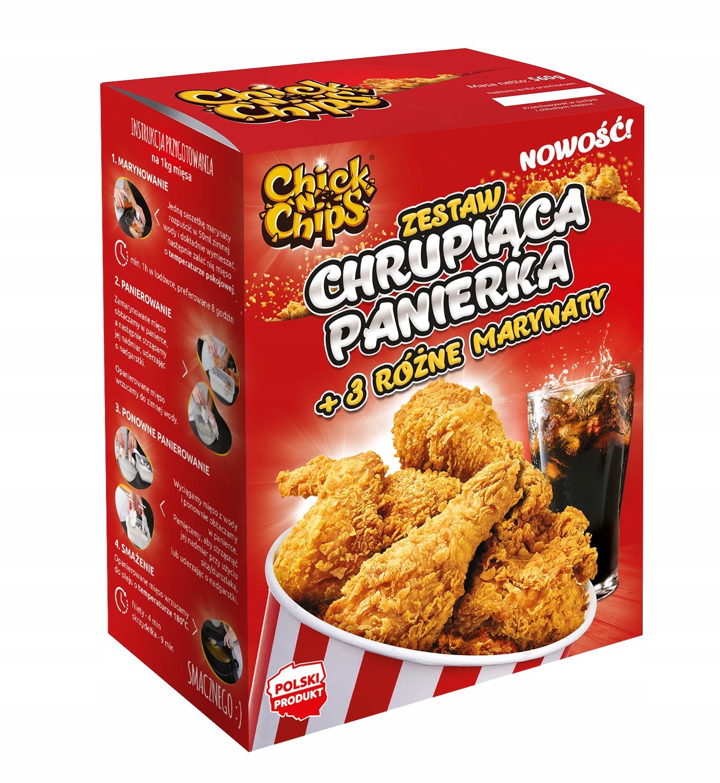 Панировочные сухари Chick'n'Chips + 3 маринада! ДОМАШНЕЕ KFC!