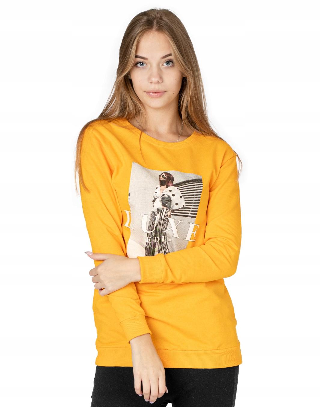 Długa Bluza Tunika Damska Bawełniana 242-09 r XL