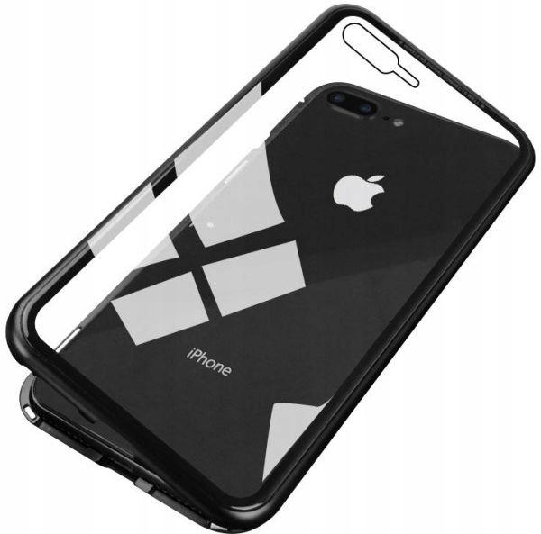 Etui Magnetyczne 360° do iPhone 7 Plus / 8 Plus Kolor czarny