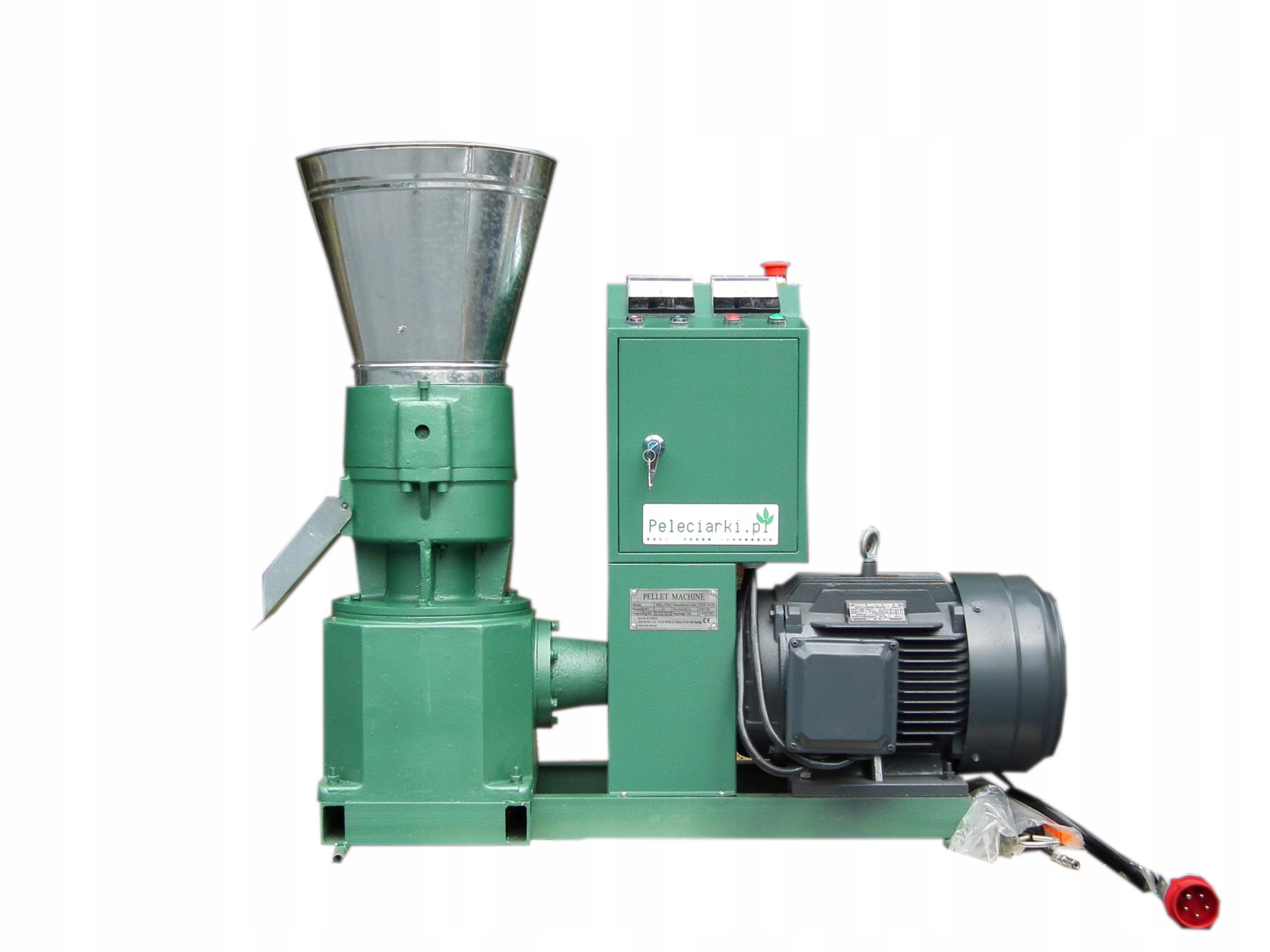 Пеллетная мельница, Пеллетная мельница, Пеллетная мельница 7,5 кВт до 150 кг / ч