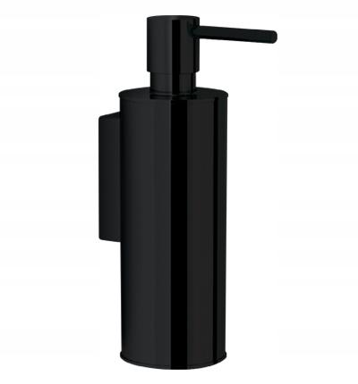 Dávkovač tekutého mydla, 5x16 x9 cm, ČIERNY