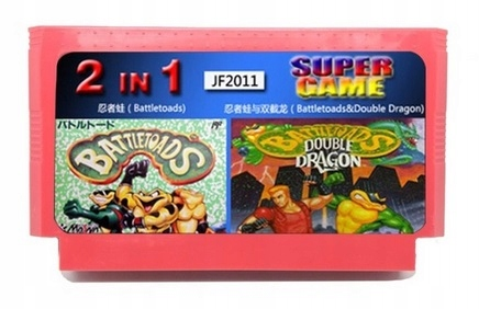 Battletoads Double Dragon 2v1 PEGAZUS DISK