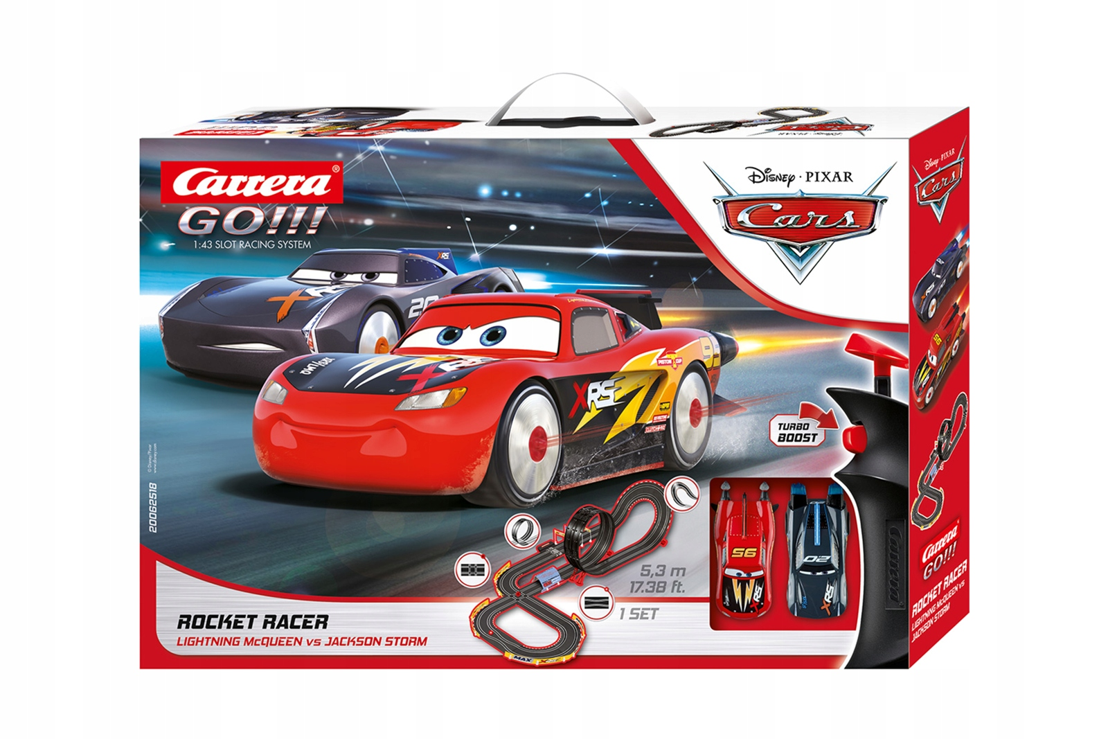 Automobily Rocket Racer 5,3 m 1/43 Carrera 62518