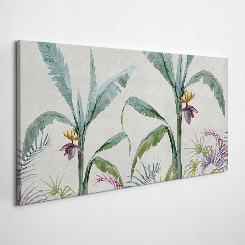 Foto-obraz na płótnie Egzotyczna Dżungla 140x70 cm