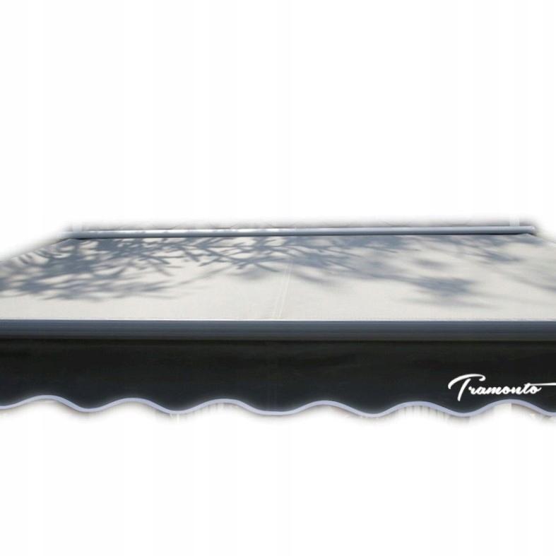 маркиза терраса Антрацит 500x300 серая PREM