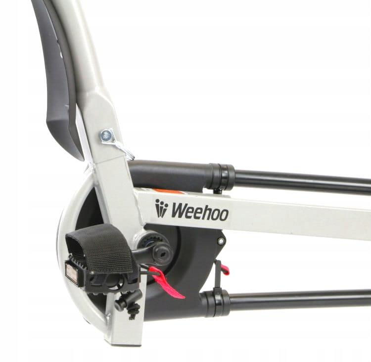 Przyczepka rowerowa dla 1 dziecka Weehoo Igo Turbo Liczba miejsc 1