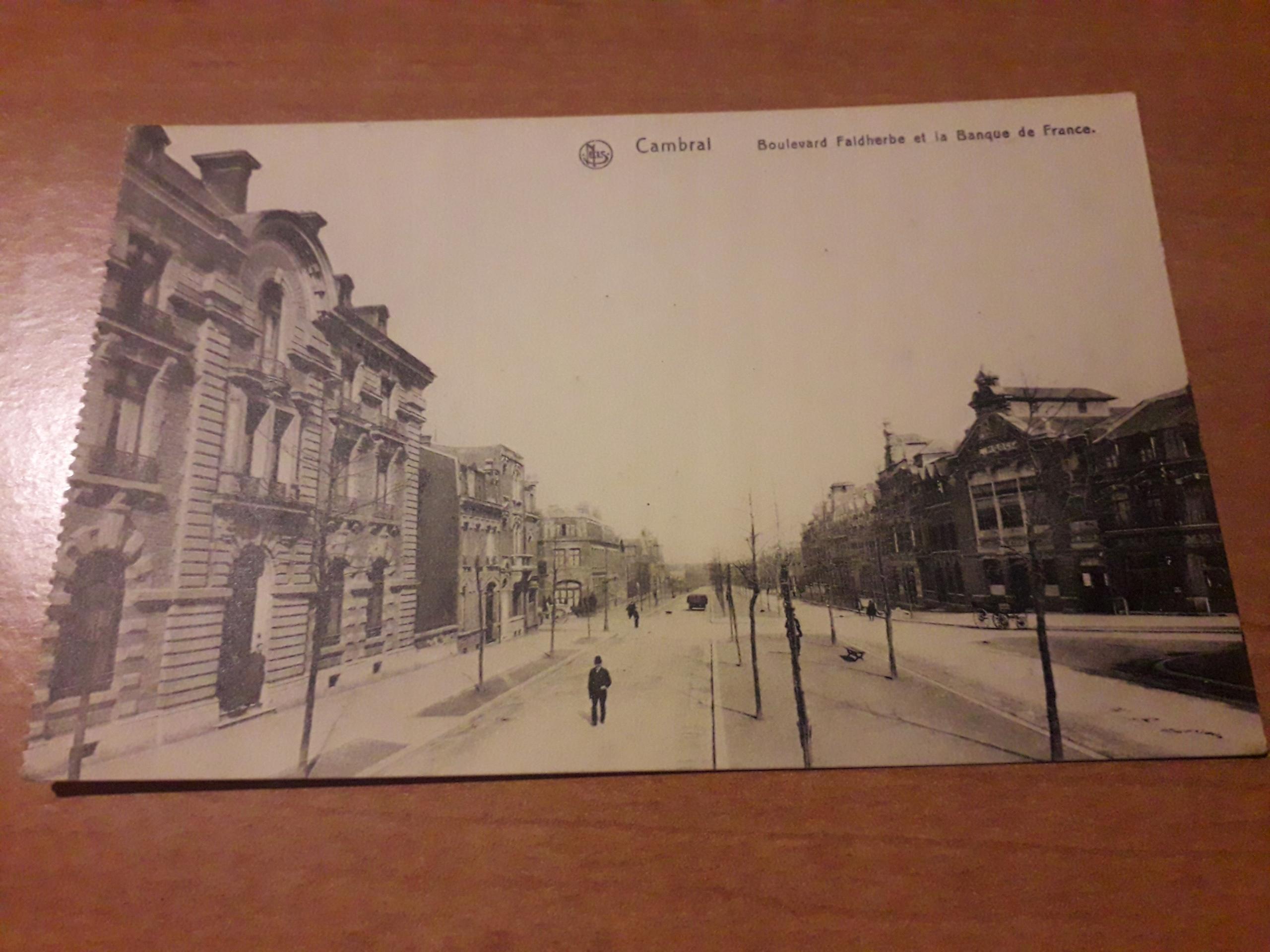 Камбре - бульвар, Франция, довоенный