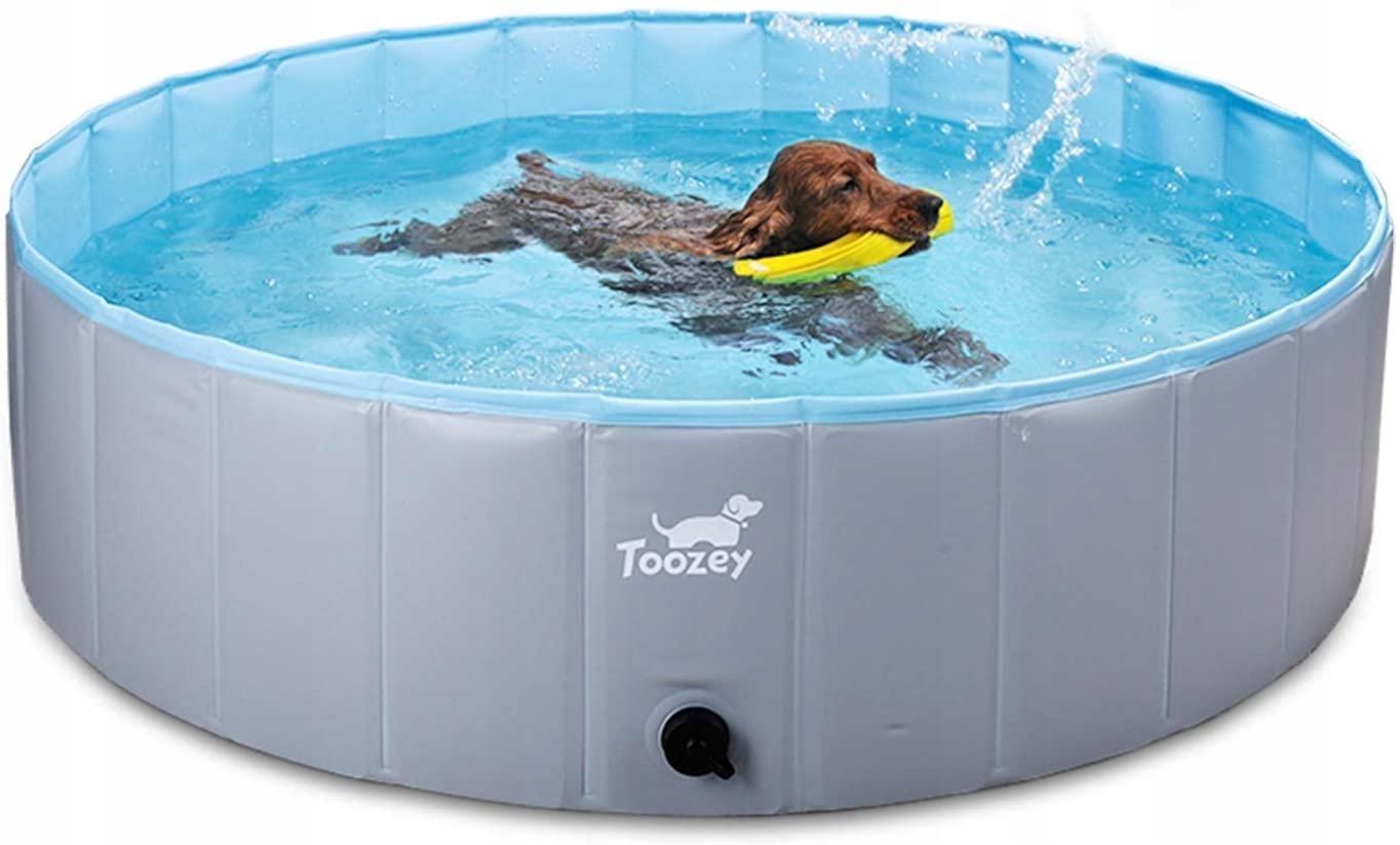 Toozey składany basen dla psa 80 x 20 cm