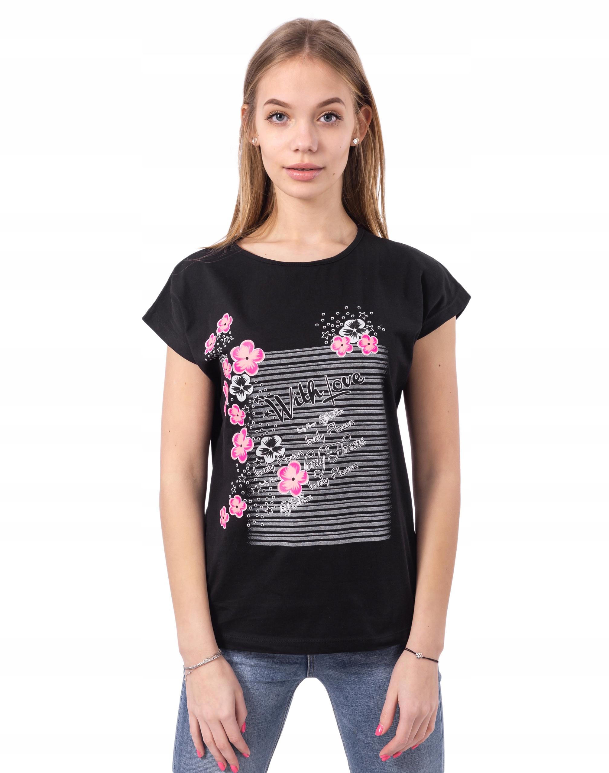 Koszulka Bluzka Damska Podkoszulek Top DK06-03 r L