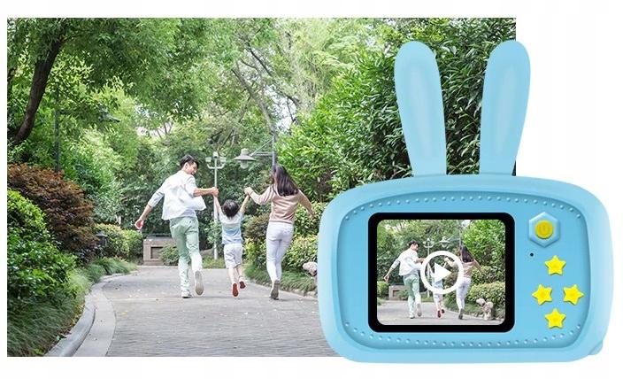 Aparat Cyfrowy Kamera dla Dzieci LCD KRÓLIK GRY Marka inna