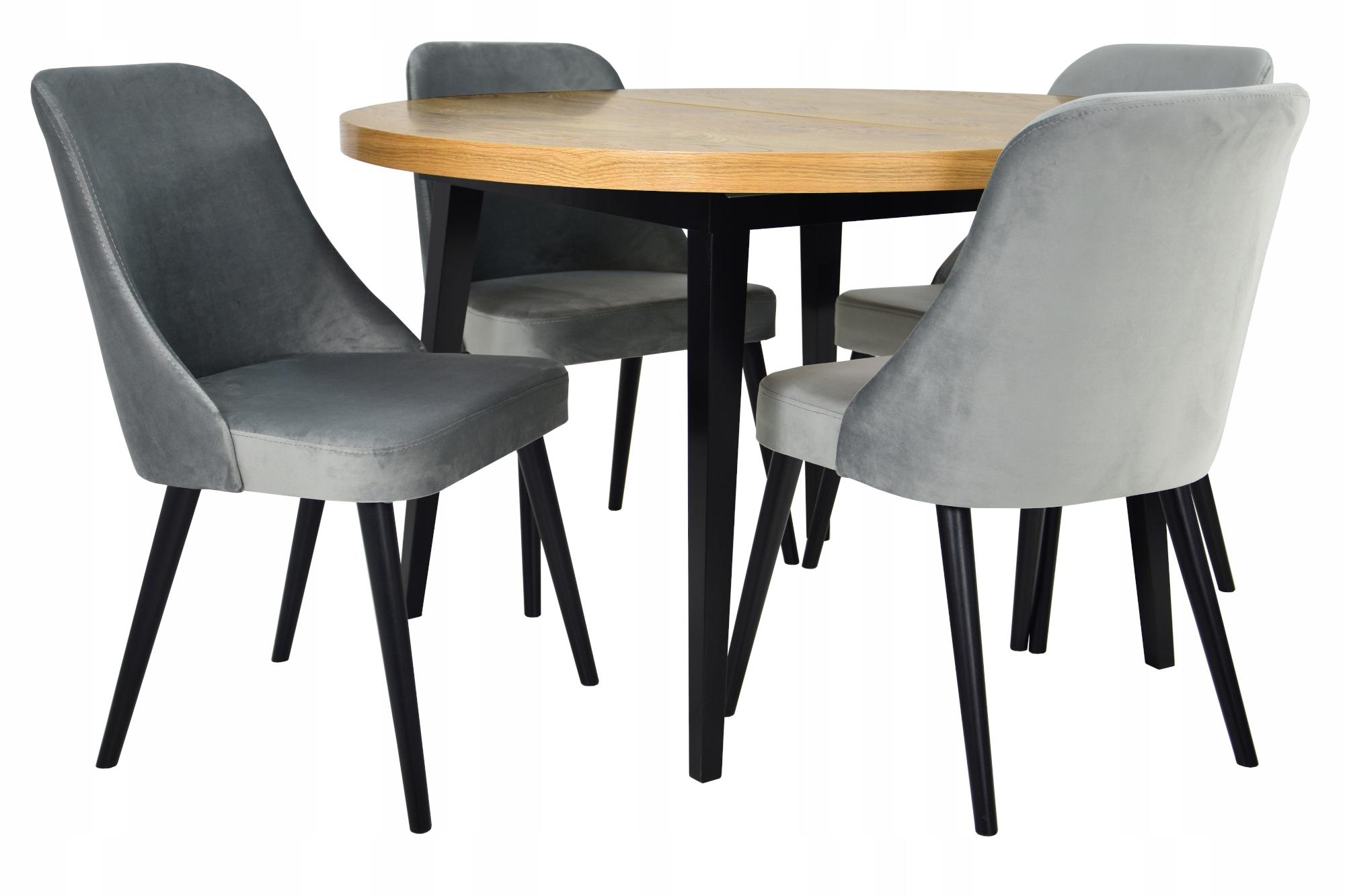 4 stoličiek a INÉHO TKANIVA + tabuľky kolo SÚČASNÉHO