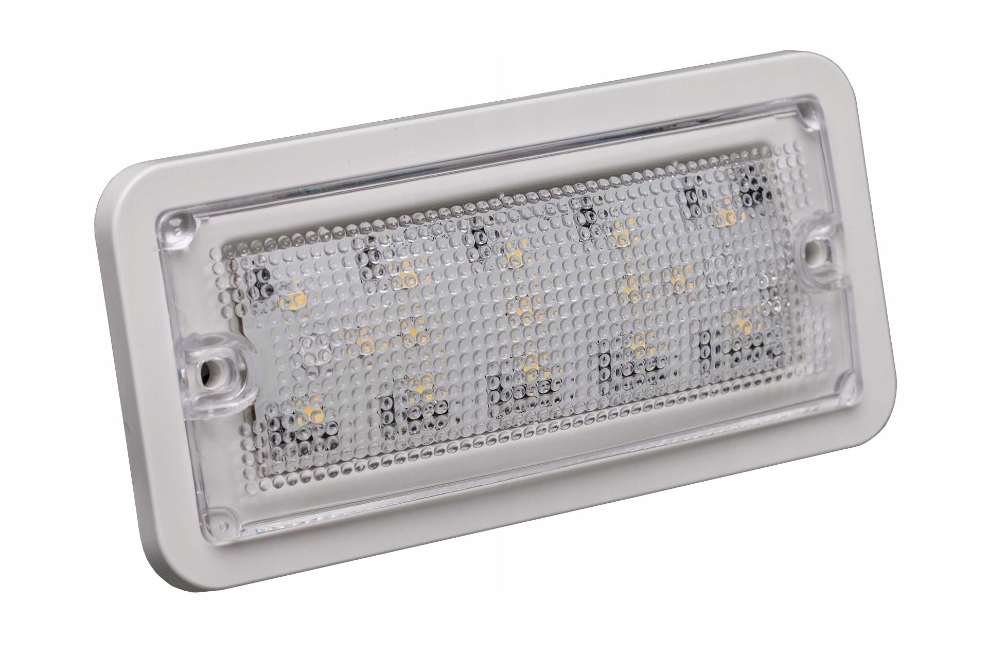 15 LED лампа для внутреннего освещения прямоугольная