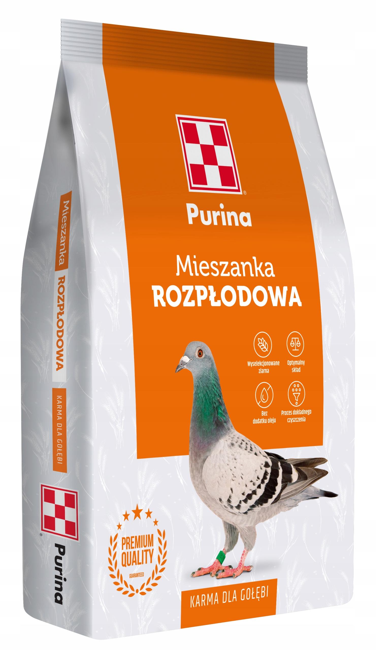 Корм Purina Karma для разведения голубей 20 кг HIT