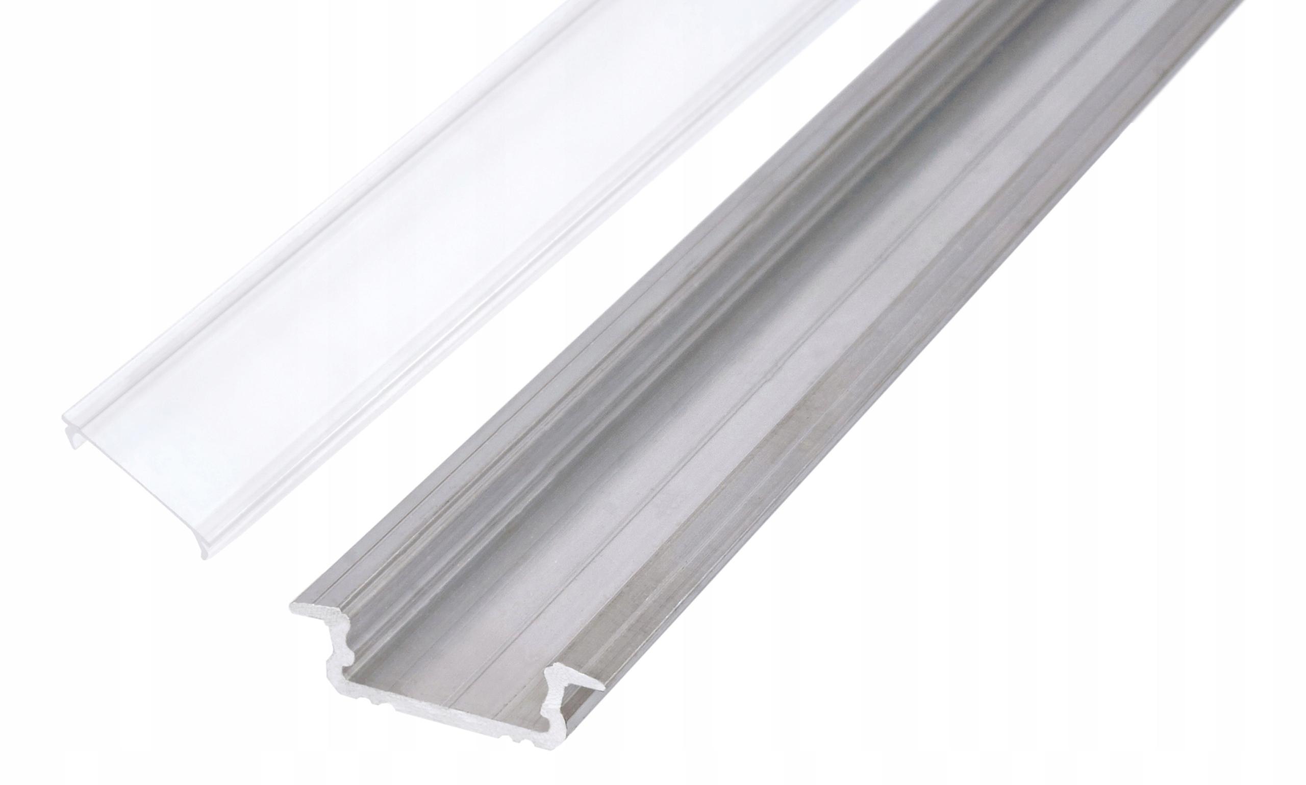 Профиль для светодиодной ленты OXI-Zx встраиваемый 2м + крышка