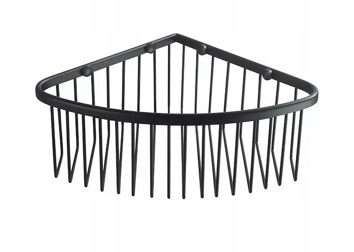 Rohový kôš Stella 16.022-B čierna mat