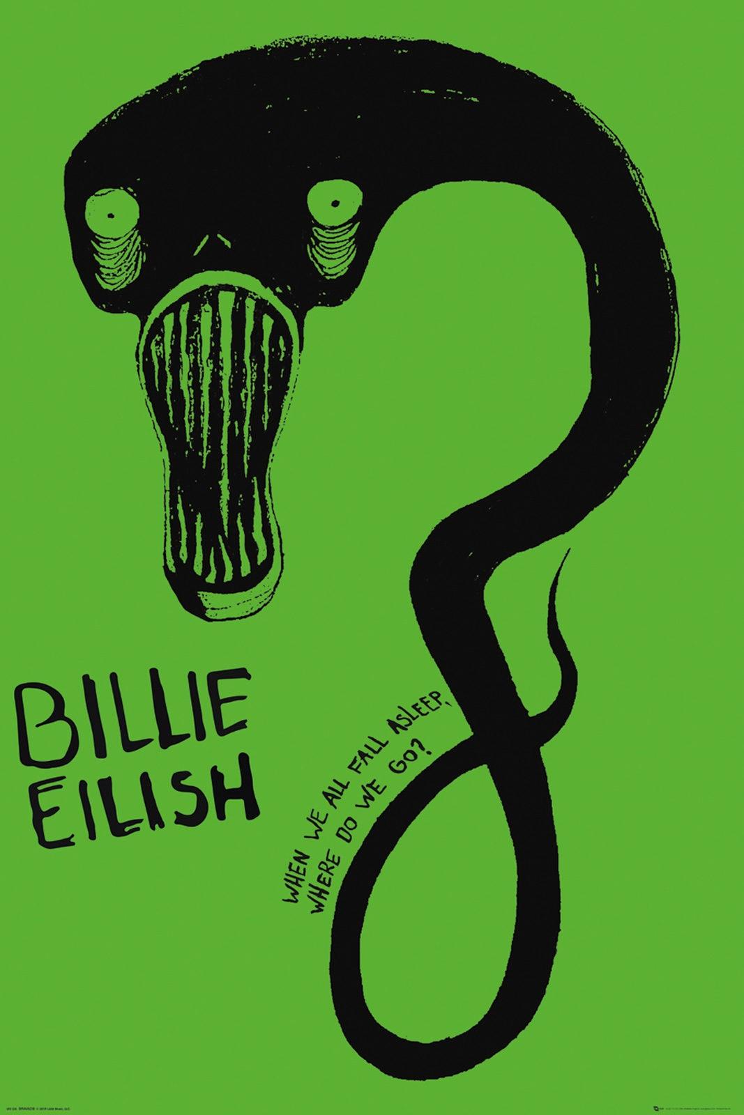 Billie Eilish Ghoul  plakat muzyczny 61x91 5 cm