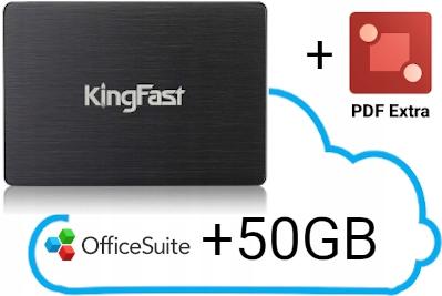 Купить Твердотельный накопитель KingFast F6 Pro 120 ГБ SATA3 3D NAND на Otpravka - цены и фото - доставка из Польши и стран Европы в Украину.