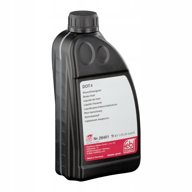 Тормозная жидкость DOT 4 1л 1 литр FEBI 26461