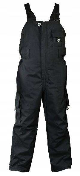 Ogrodniczki robocze spodnie ocieplane BLACKER L