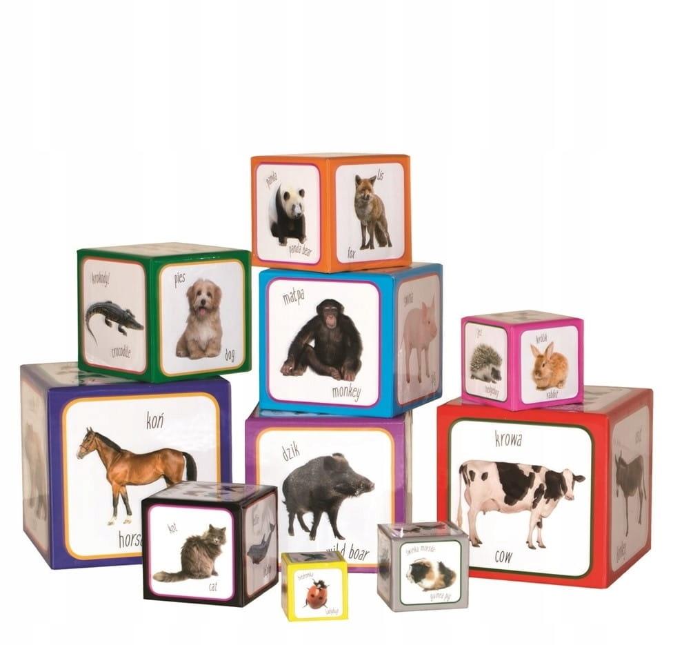 Montessori náučné pyramídové bloky