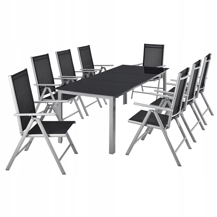 Садовая мебель MADRYT Aluminium 8 PERSONS TABLE 190x90