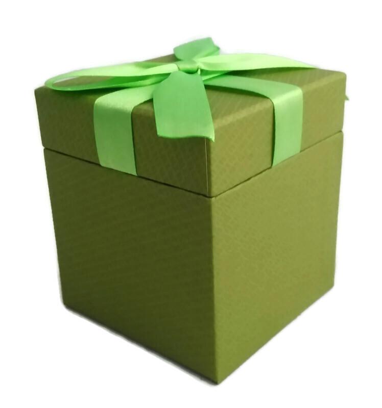 Декоративная подарочная коробка, 9,2х10,5 см