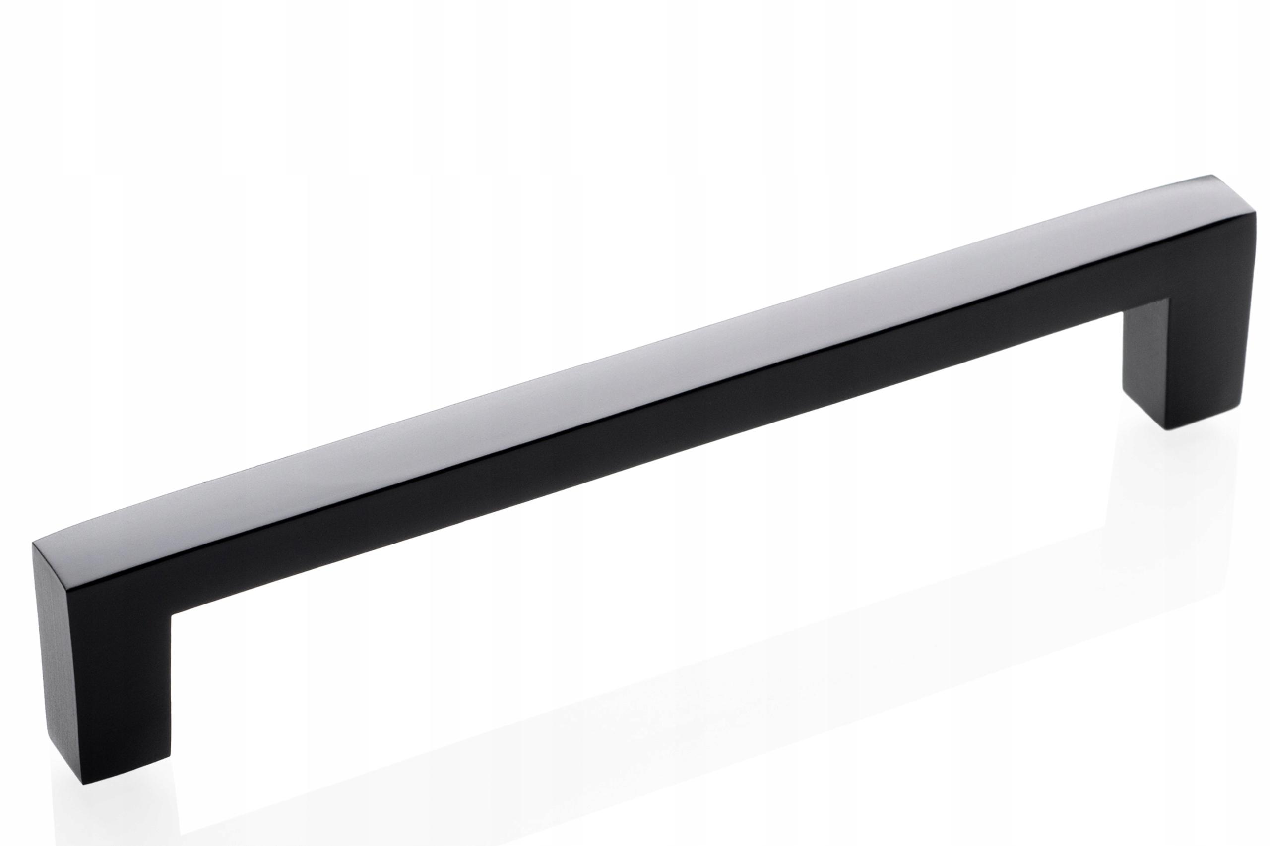 Uchwyt Meblowy VELOR BLACK - czarny MAT 96 mm