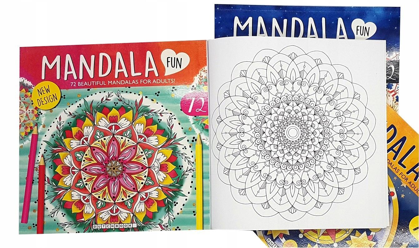 Mandala Kolorowanka Antystresowa Dzieci Doroslych 9480410331 Allegro Pl