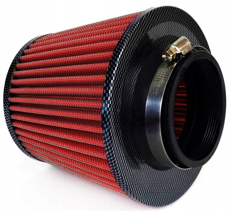 спортивный фильтр сжатым конус carbon + 3 адаптеры