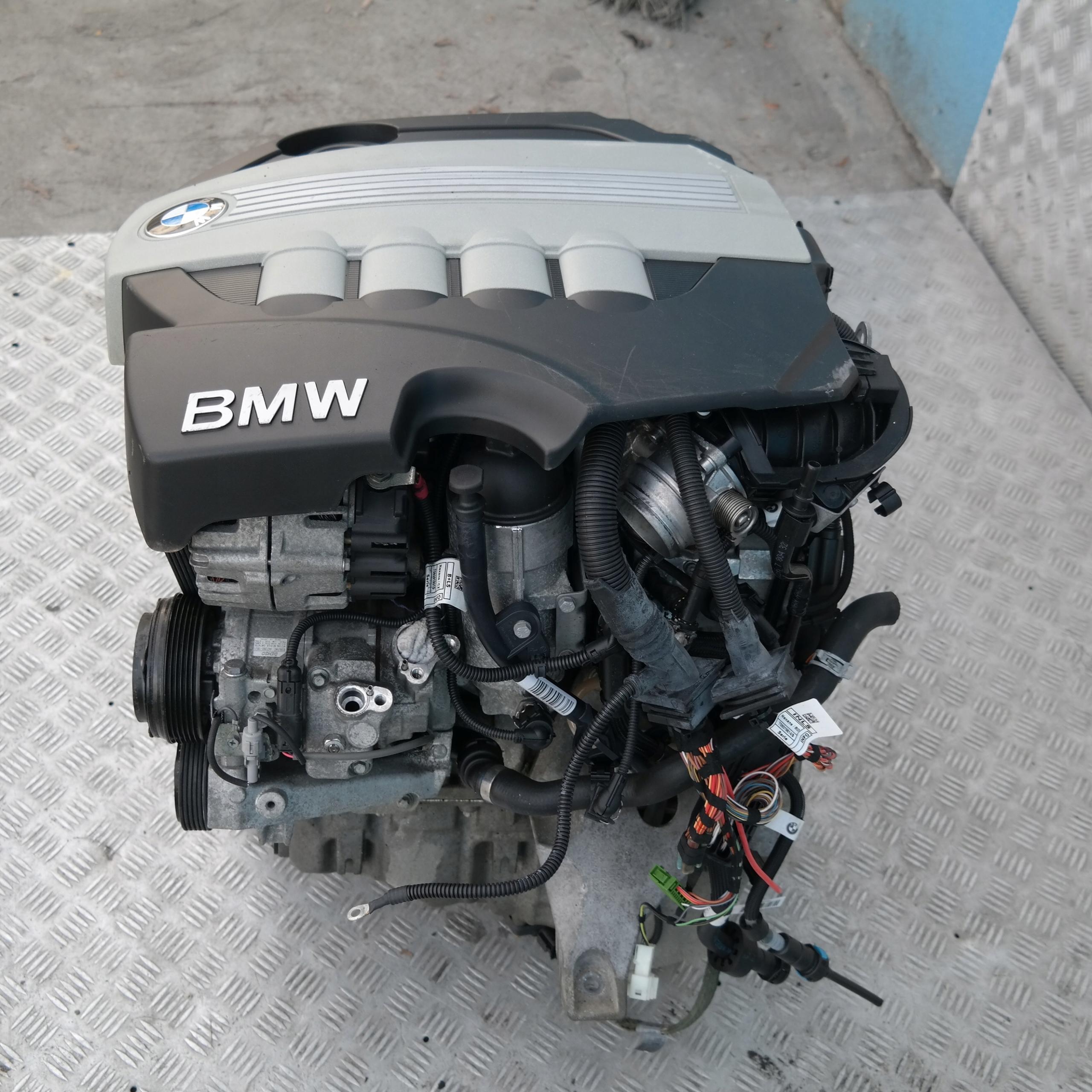 BMW 1 3 E87 E90 Двигатель n47d20a 177KM 120d 320d