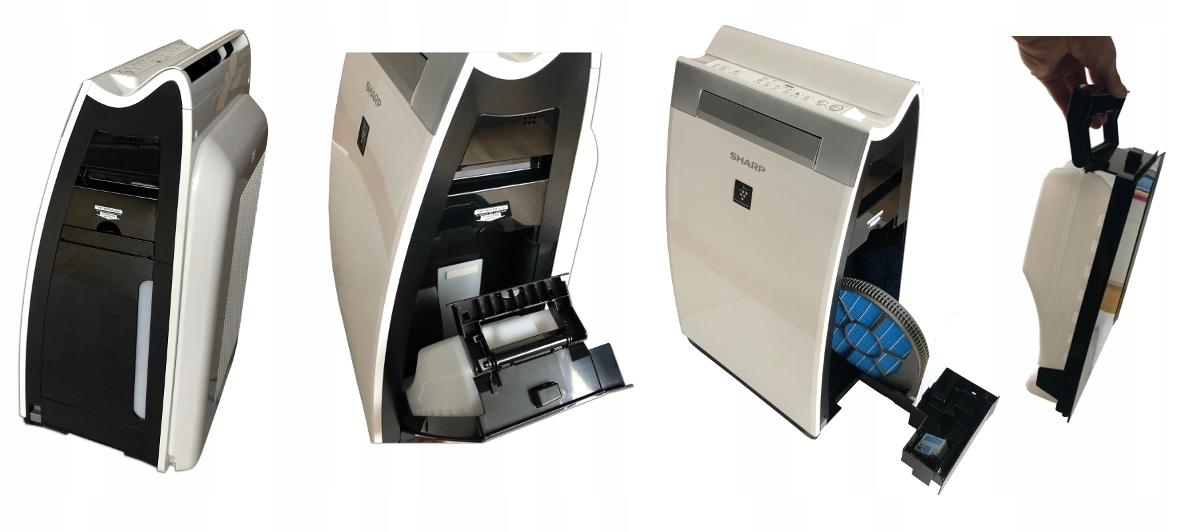 Oczyszczacz powietrza Sharp KI-G75EU-W + nawilżacz Marka Sharp