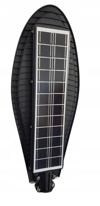 Lampa uliczna LED latarnia solarna 150W + PILOT ! Cechy dodatkowe czujnik czasu świecenia czujnik ruchu czujnik zmierzchu możliwość pracy w temperaturze poniżej zera możliwość ściemniania pilot regulacja padania światła