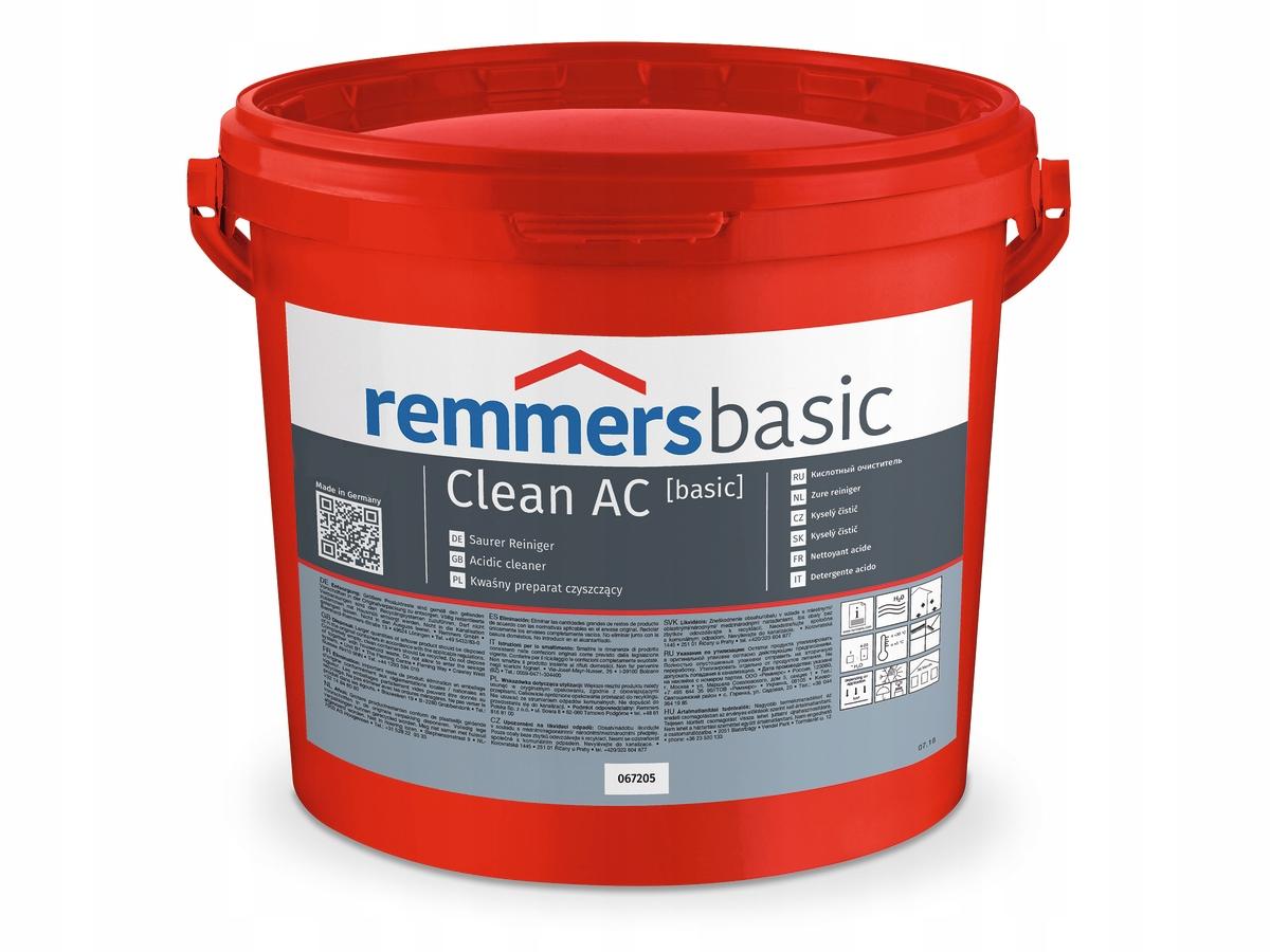 Remmers Clean AC кислотный очиститель 5 кг