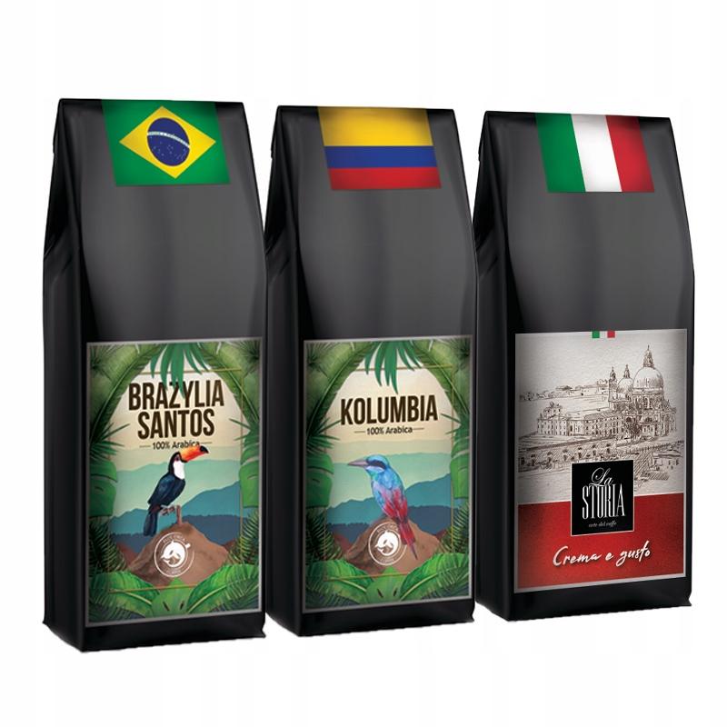 Kawa ZIARNISTA 3kg ŚWIEŻO PALONA Arabika 100%