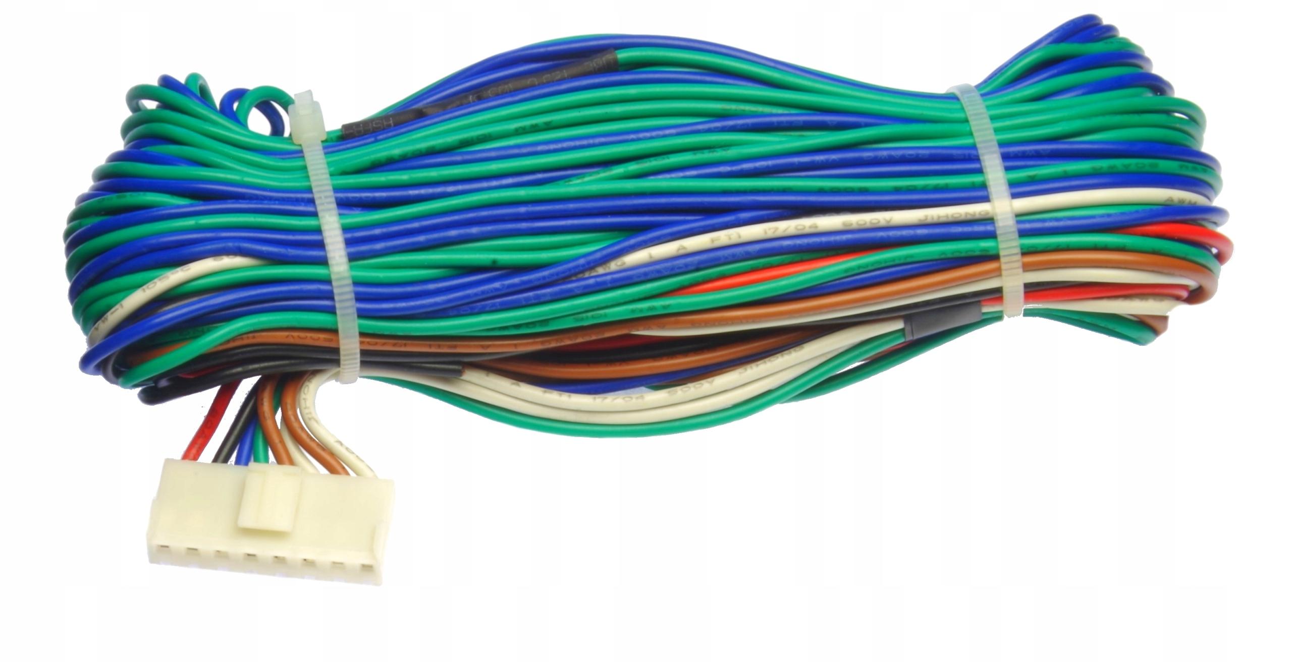 жгут проводов кабелей к замка центральный 8-pin