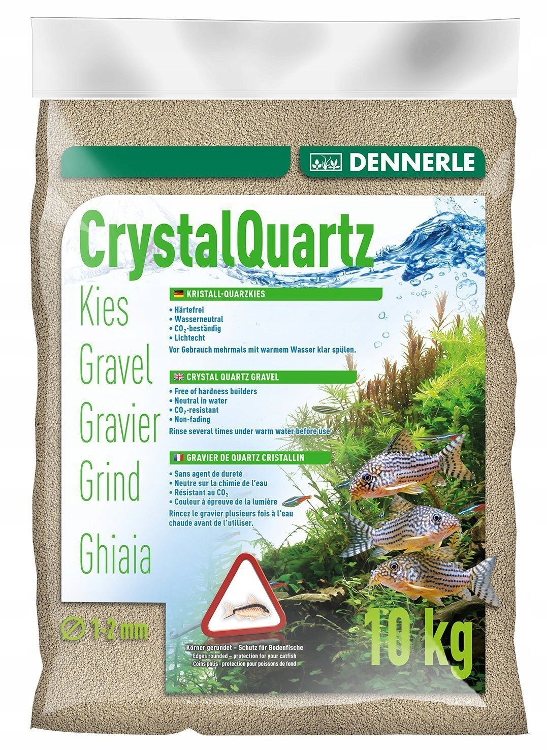 Dennerle kremičitý štrk pôdy 10 kg