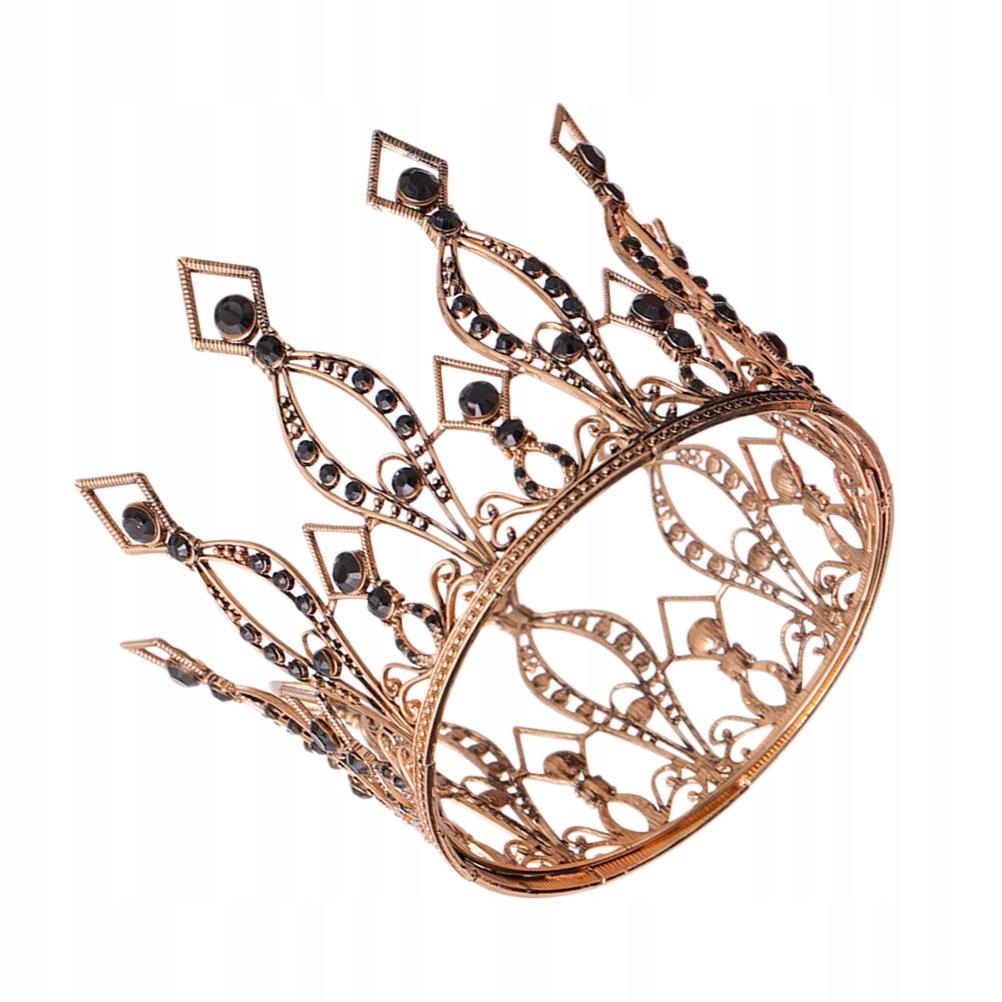 1ks Crown Svadobné čelenky Retro pokrývky hlavy odosiela