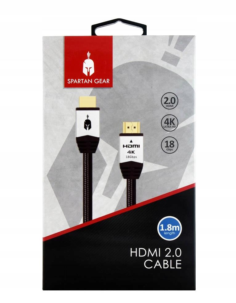 Купить SPARTAN GEAR КАБЕЛЬ HDMI 2.0 / PS4, XBOX ONE SWITCH на Otpravka - цены и фото - доставка из Польши и стран Европы в Украину.