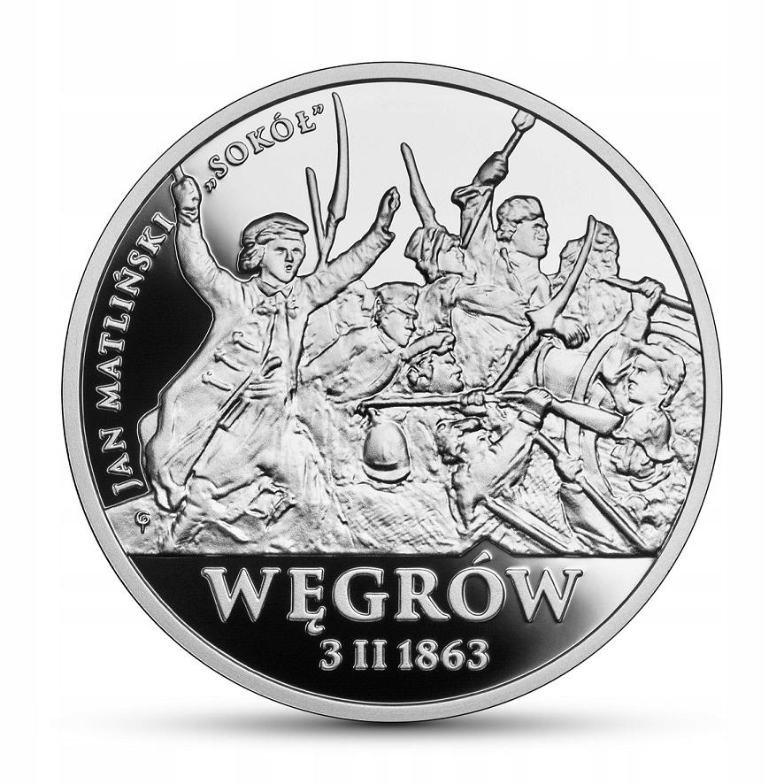 20 złotych - Polskie Termopile – Węgrów - 2020