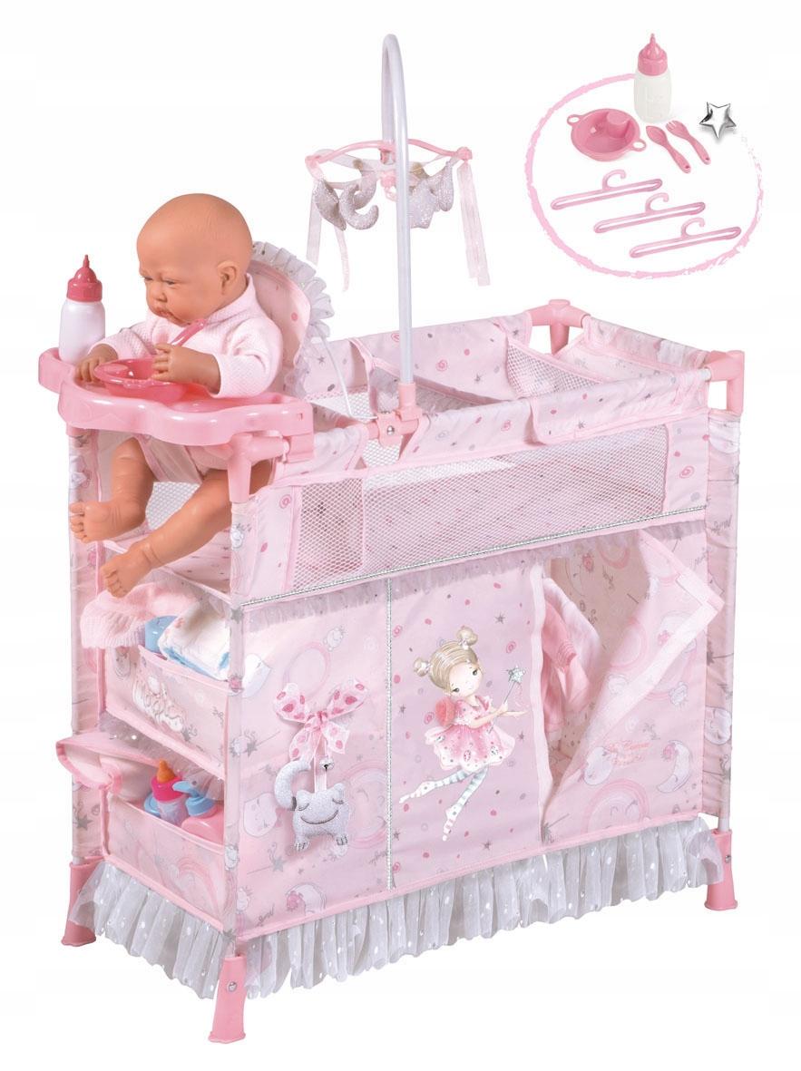 Detská postieľka - rozkladacia posteľ ROSITA 53034 DeCuevas