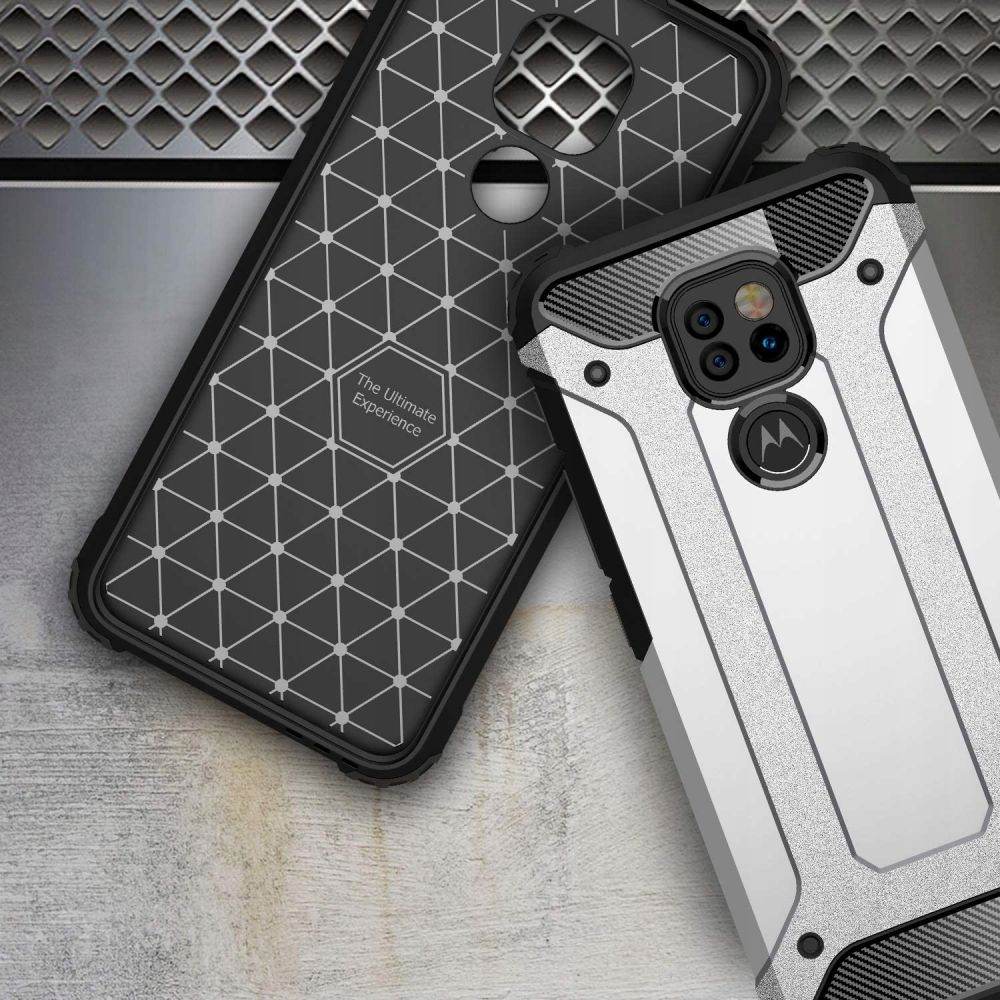 Etui Xarmor + szkło do Motorola G9 Play / E7 Plus Załączone wyposażenie szkło hartowane