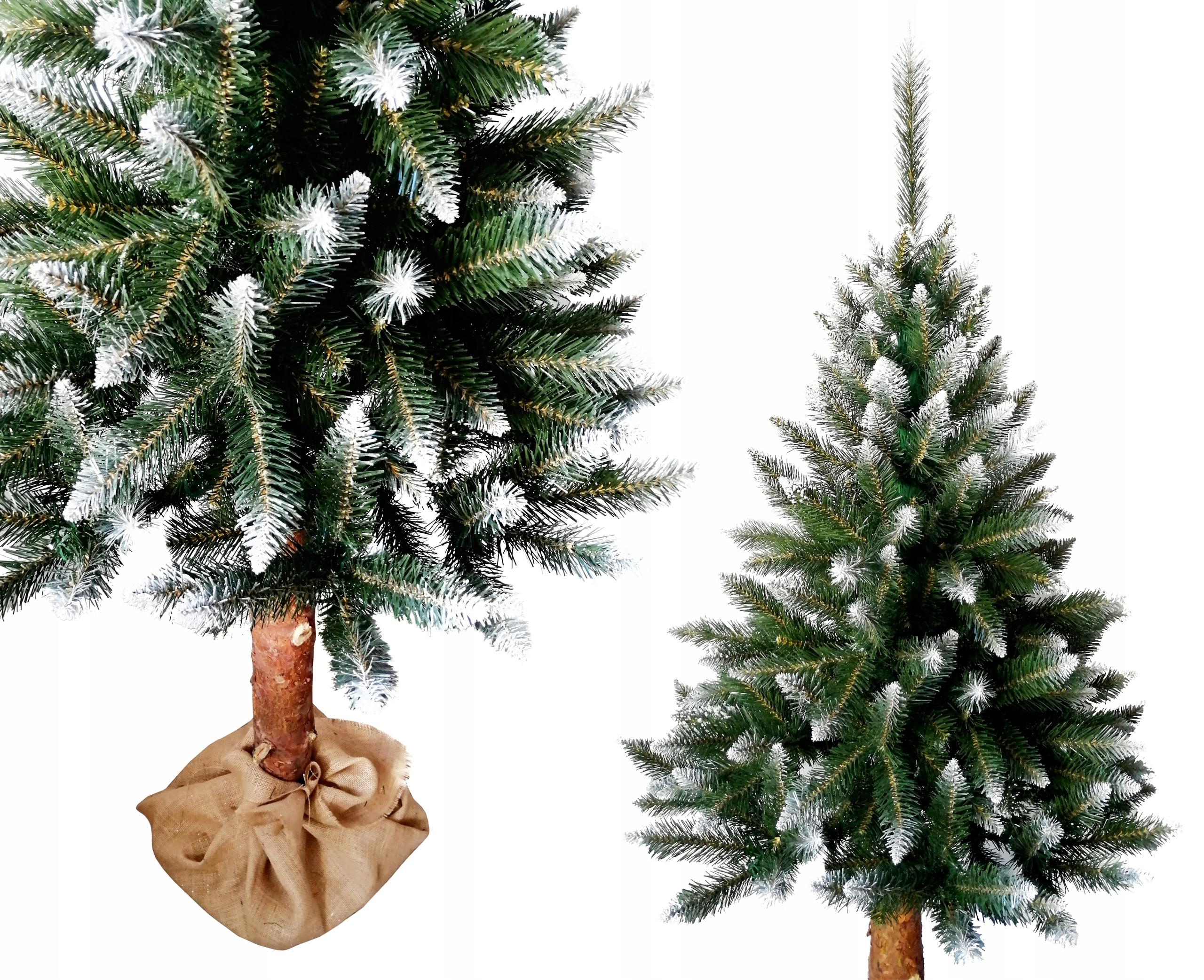 Vianočný stromček DIAMOND SMRCH 180cm Kmeň JUTY