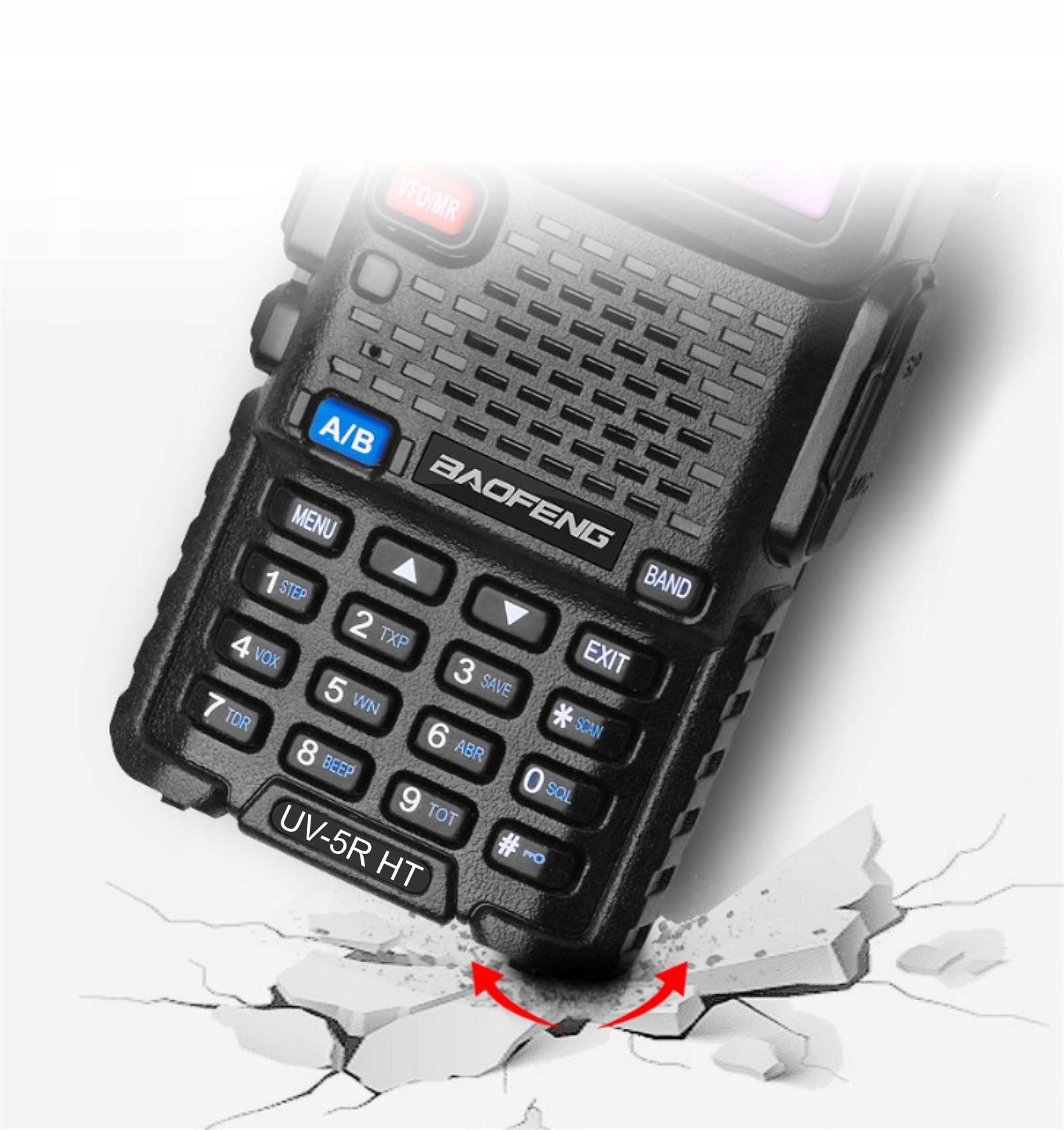 Купить Baofeng UV-5R HT 5W Radio SKANER POLICJA POGOTOWIE на Otpravka - цены и фото - доставка из Польши и стран Европы в Украину.